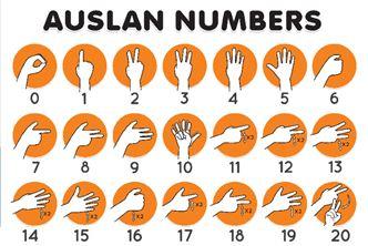 auslan numbers